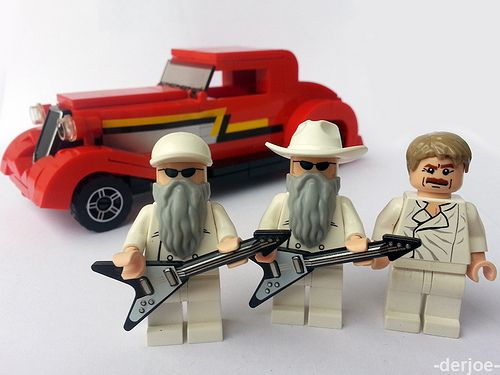 ZZ Top with Eliminator by -derjoe- | Custom LEGO Minifigs