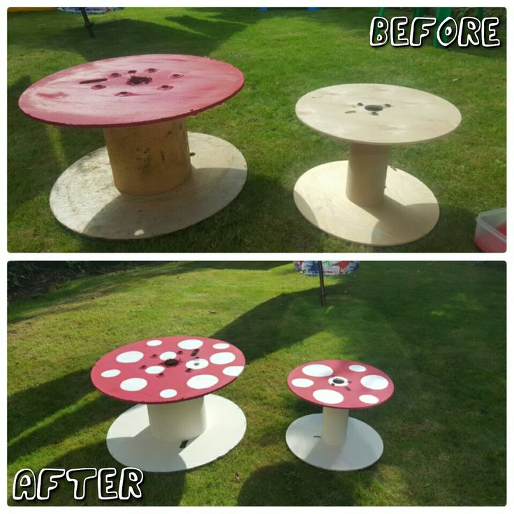Garden toadstool  #toadstools #reels #paintingreels #gardentoadstools #anniesloan paint