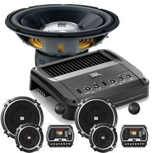 """JBL Audio mobil GTO Series. produk terbaru, dari JBL, Terdiri dari  speaker 2 way  seri GTO-653C, Subwoofer 12"""" JBL dan Amplifier JBL"""