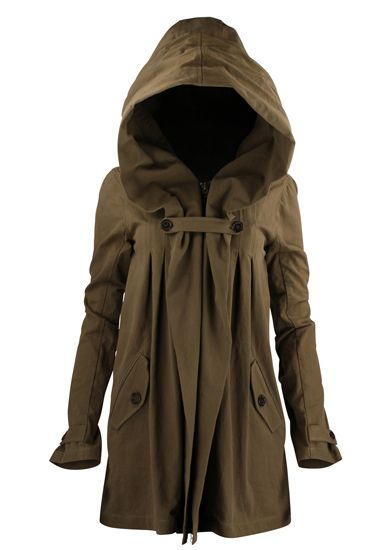 So I can feel like a princess and a Jawa from starwars all at once. Nicholas K Anthro Jacket Taupe