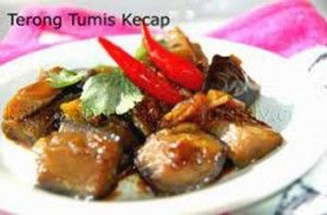 Terong Tumis Kecap (Stir Fry Eggplant with sweet soy sauce)