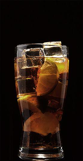 KRAKEN UP 1 part Kraken Rum 3 parts lemon lime soda Lemon wedge