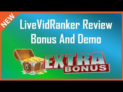 LiveVidRanker Review | Demo And Live Vid Ranker Bonus - YouTube