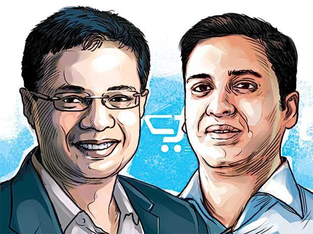 Sachin Bansal & Binny Bansal, Flipkart
