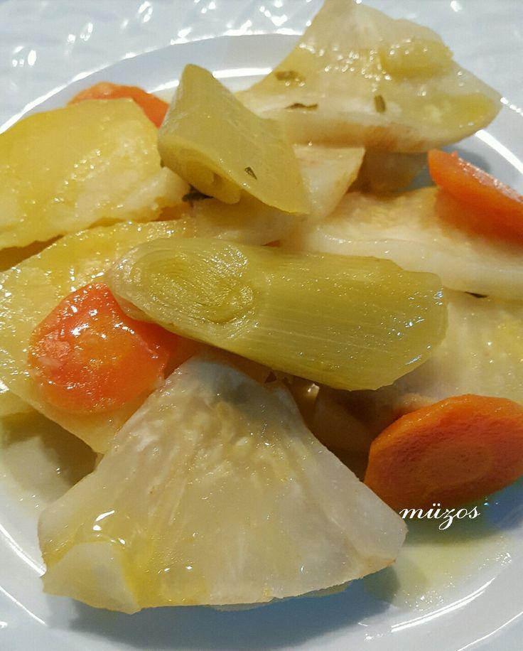 Portakal,limon ve pırasalı kereviz