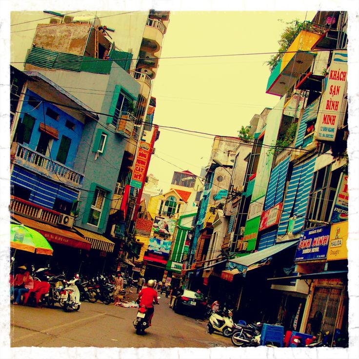 Tran Quy Cap Street Hanoi, Vietnam