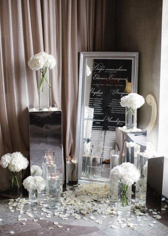 Элегантная свадьба с черными акцентами    #wedding #bride #flowers
