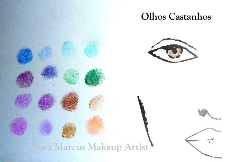 Teoria das Cores by Sara Marcus Olhos Castanhos