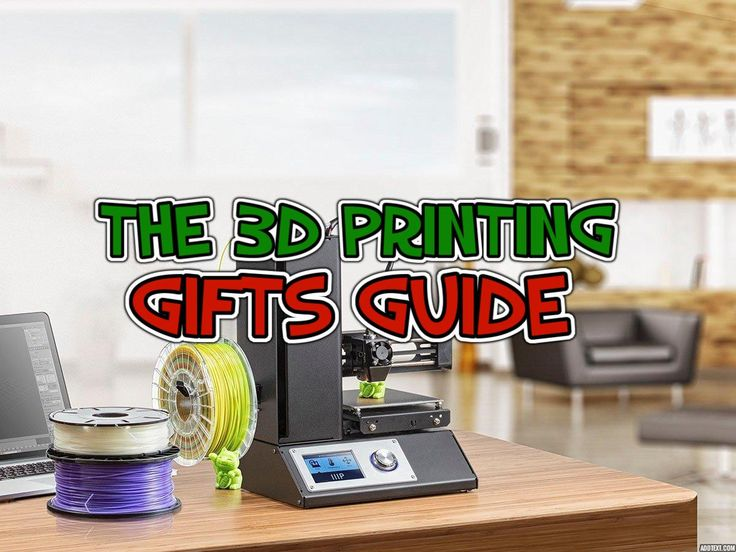The 3D Printing Gifts Guide 2018