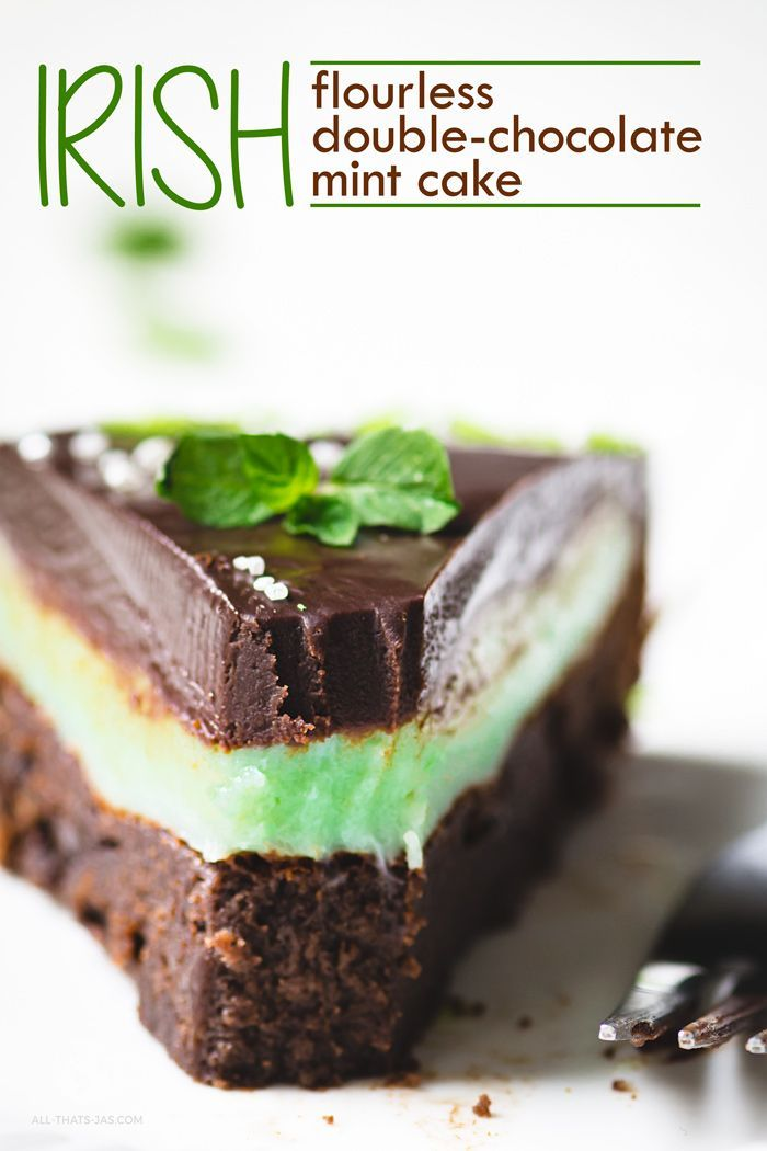Flourless Double Chocolate Mint Cake Recipe In 2020 With Images