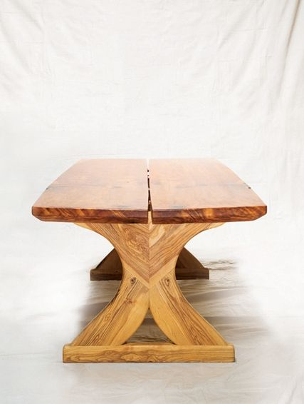 ... Wood Conference Table, Portland, Oregon. urbantimberworks. A truly  one of a kind find. This giant sequoia was salvaged from SE 52nd