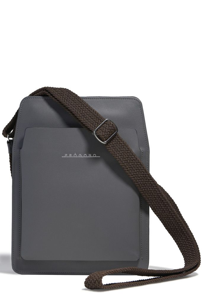 Itamaraty Messenger Bag. Grey