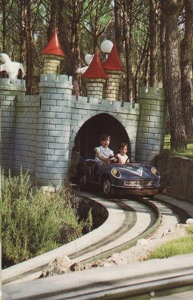 Foto histórica del Parque de Atracciones de Madrid