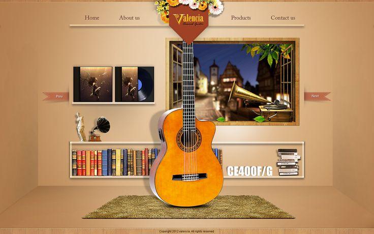valencia guitar  new  desgin by laibach0812.deviantart.com