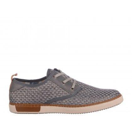 Pantofi casual Gryxx gri inchis, din material textil