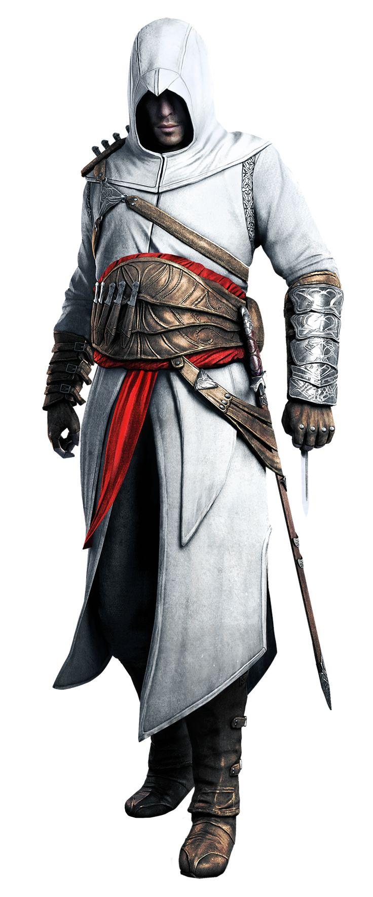 Altaïr Ibn-La'Ahad, o membro mais notável da irmandade dos assassino da região de Levante durante a Terceira Cruzada.