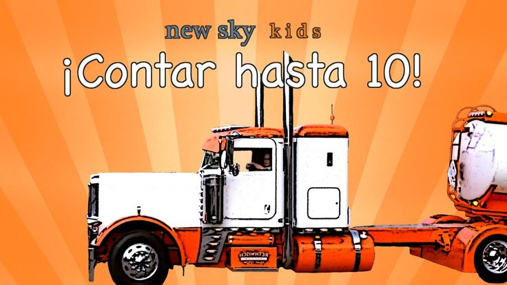 Kids Truck Videos - Count to 10 in Spanish - Videos de Camiones Para Los...
