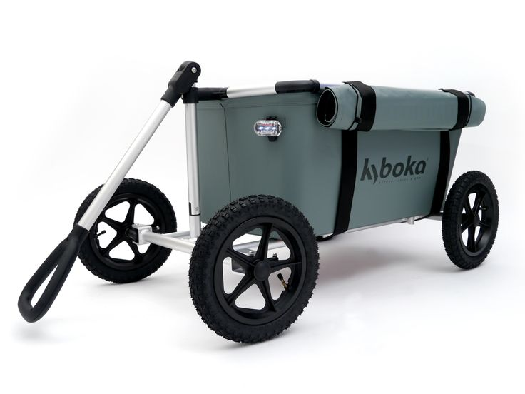This folding cart is great for carrying sports gear, camping gear, beach gear, groceries, and gardening and yard supplies.
