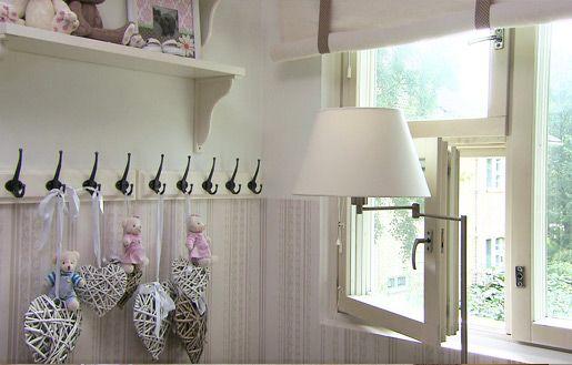 Aava-vauvan huone (TYYLIVARKAAT) | Sisustussuunnittelu minna #vauvanhuone #babyroom #baby #romanttinen #hempeä #maalaisromanttinen