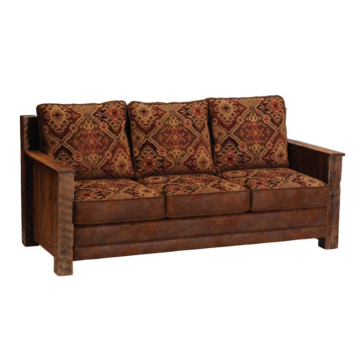 Barnwood Sleeper Sofa Bed