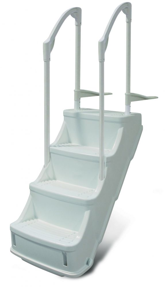 Drop In Step for Above-ground Pools - PoolSupplies.com