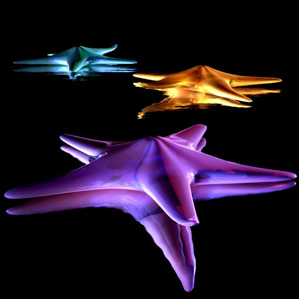 This Is The Extra Cool Neon Starfish T5