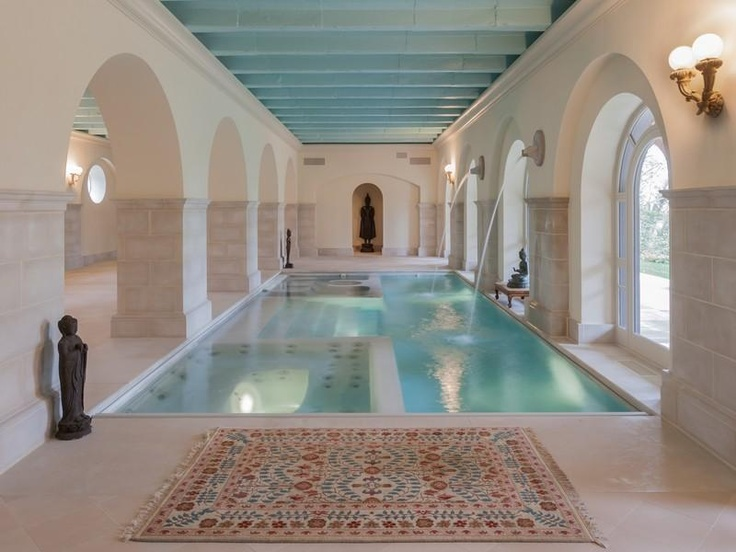 Spanish Style Indoor Pool Cool Houses Daily Palatial