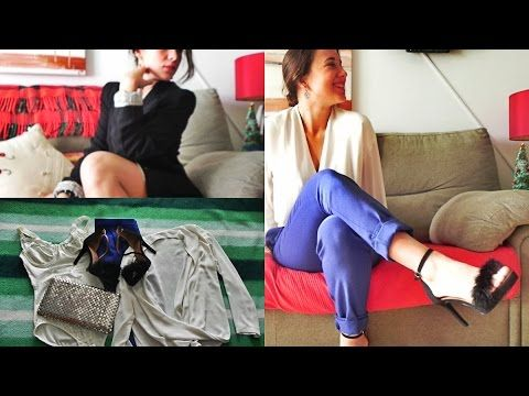 XMAS: Maquillaje + Peinado + Outfits + 2 FASHION DIY