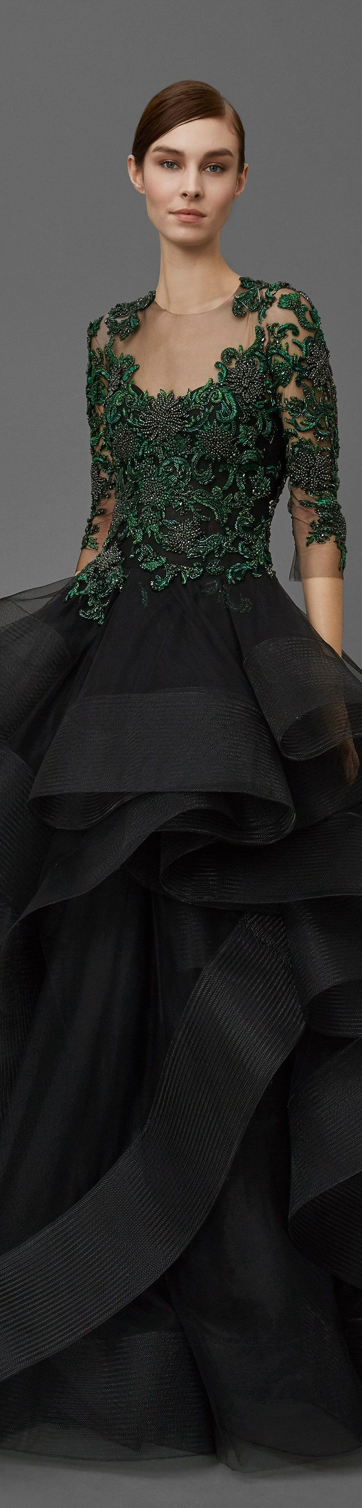 ℳiss Giana's Gorgeous Gowns ♛ ♛    Poppy Pea   Marchesa Notte Pre Fall 2016