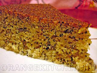 Вегетарианский рецепт кукурузного кекса без яиц