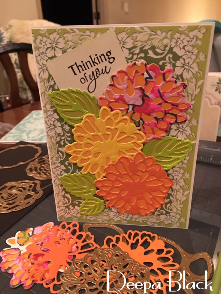 Anna Griffin's Fantastic Floral Dies! This is such a BEAUTIFUL collection!
