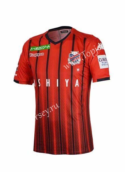 81aa3937f 2019-20 Hokkaido Consadole Sapporo Home Red Thailand Soccer Jersey AAA-417