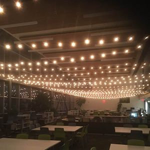 #1 Toronto String Lighting Rentals | Globe String Lights Toronto Rentals