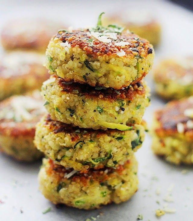 Croquetas de Quinoa y Zapallo Italiano ~ Mis Recetas Favoritas