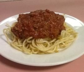 Recipe Spaghetti Bolognaise Sauce by Michelle Meyerkort - Recipe of category Main dishes - meat