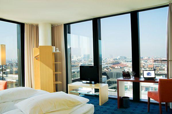 Eines der Executive Zimmer im Hyperion Hotel Basel