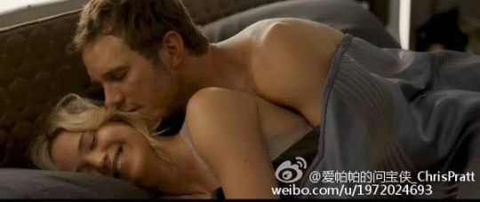 Chris Pratt and Jennifer Lawrence / Passengers (2016)