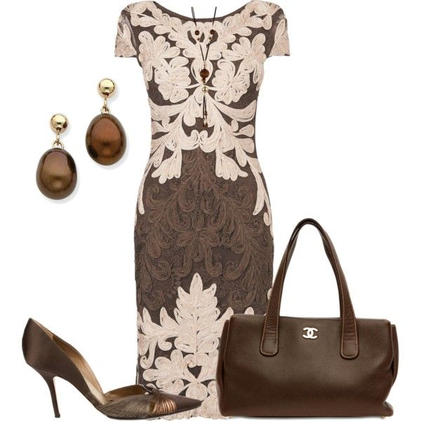 A fashion look from January 2015 featuring Phase Eight dresses, René Caovilla pumps and Chanel shoulder bags. Browse and shop related looks.