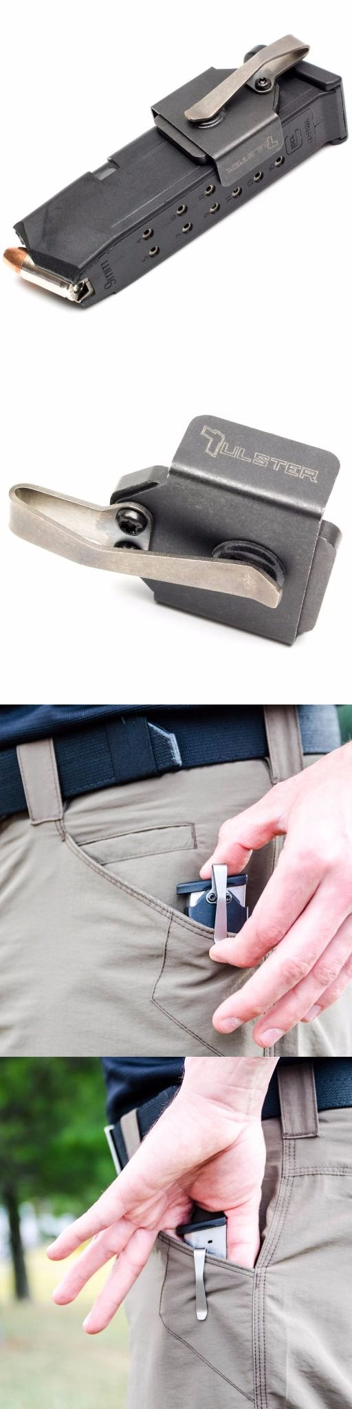 NeoMag - Magnetic In-The-Pocket Handgun Pistol Firearm Magazine Holder