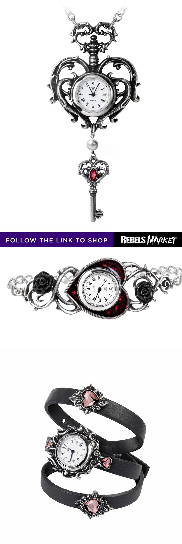 Shop  gothic watches online at RebelsMarket.