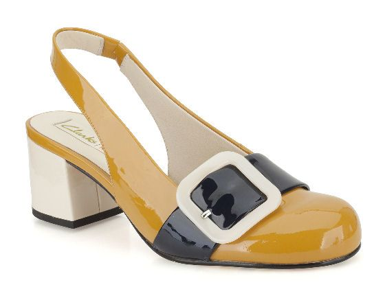 Spring shoes by Orla Kiely for Clarks