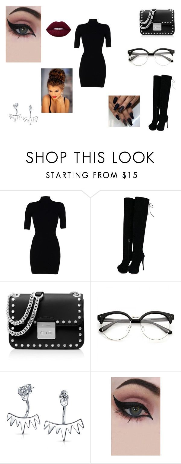 """Date Night"" by loveisinfinityonceyoufindit ❤ liked on Polyvore featuring Morgan De Toi, MICHAEL Michael Kors, Bling Jewelry and Concrete Minerals"
