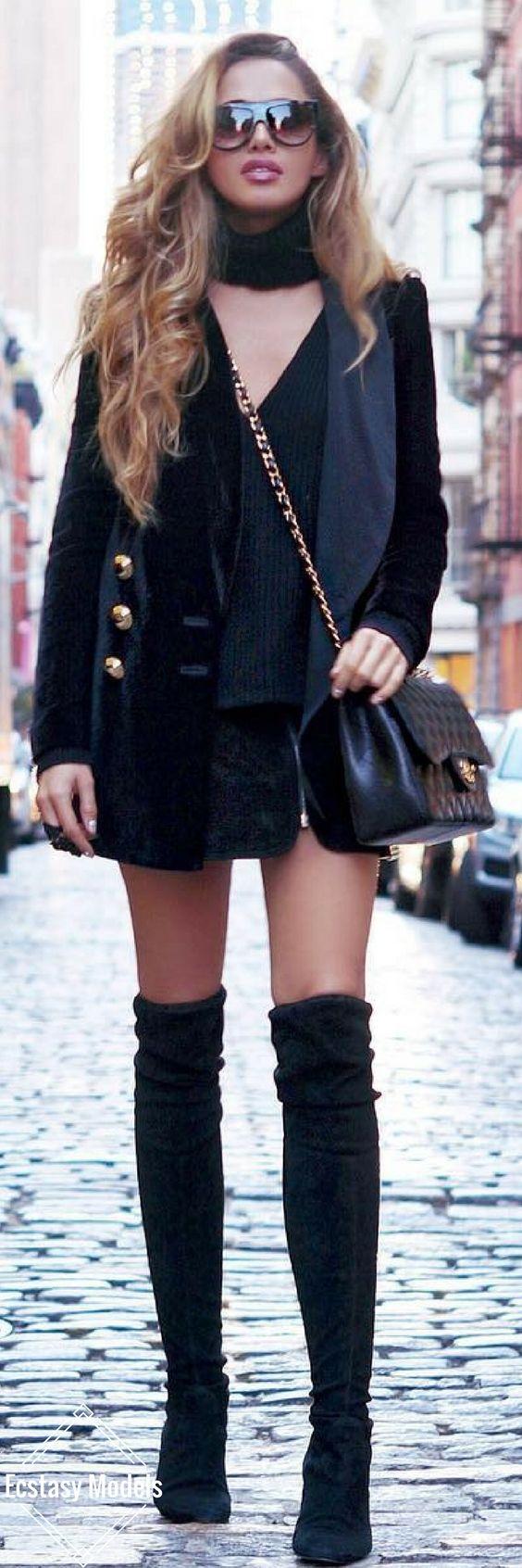 Streets Of SoHo // Blazer by InFashion // Fashion Look by Amra Beganovich