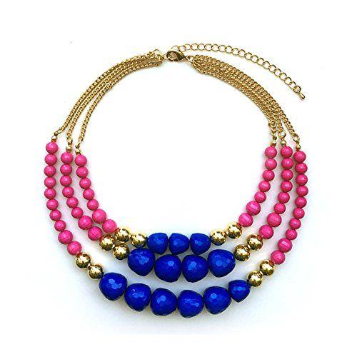 TrinketSea Multistrand Necklaces for Women 3 Strands Bead... https://www.amazon.com/dp/B076DWKHCJ/ref=cm_sw_r_pi_dp_x_We.cAbRMVCYY1