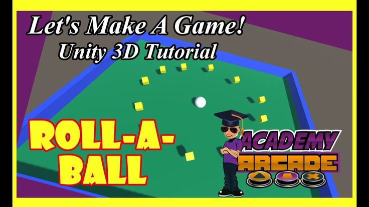 UNITY 3D GAME MAKING TUTORIAL - #1   Roll-a-Ball