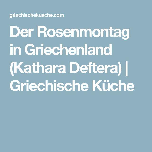 Der Rosenmontag in Griechenland (Kathara Deftera) | Griechische Küche