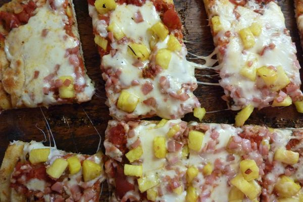 Hawaiian Pizza: Who would've thought?