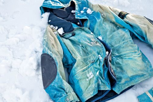 Tests on the snow with the Ice Jacket