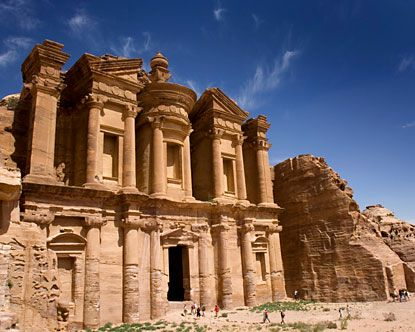 It Is A Massive Piece Of Architecture Carved Into Sandstone