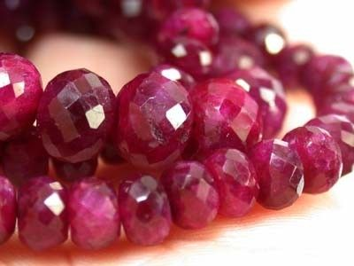A GRADE AFRICAN RUBY NECKLACE 146 CTS GW 644 necklace,gemstone necklace, ruby necklace